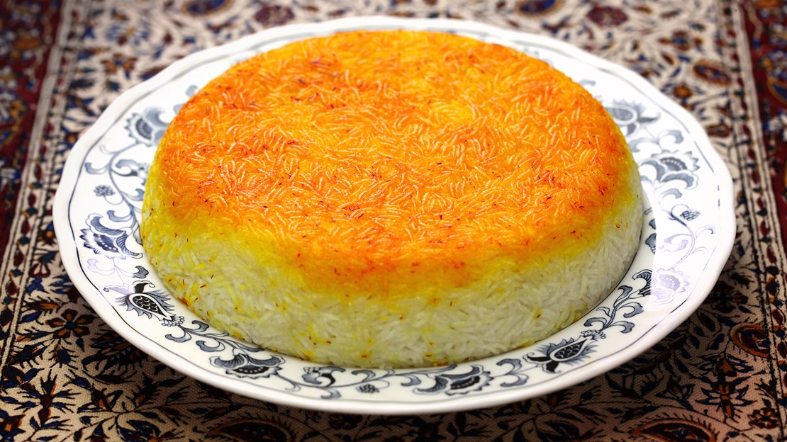 Persian Rice Tahdig